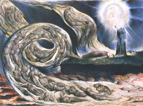 El torbellino de amantes -William Blake