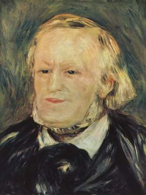 Renoir, Portrait of Richard Wagner