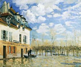 The Boat in the Flood, Port-Marly