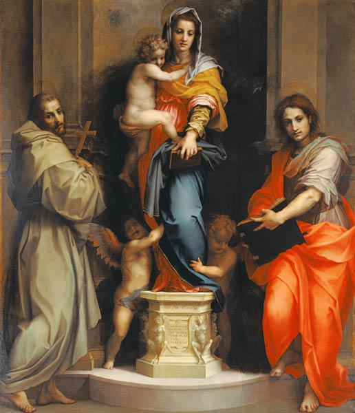 Madonna of the Harpies (Madonna delle Arpie)