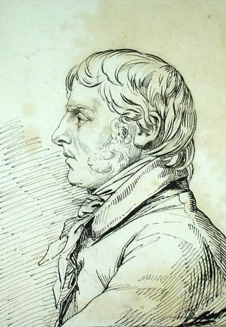 Paesaggio Di Boemia Olio Su Tela Di Caspar David Friedrich