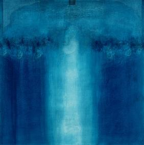 Untitled blue painting, 1995 (oil on canvas)