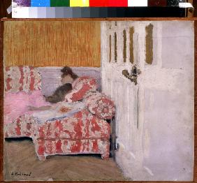 On the Sofa (The white room)