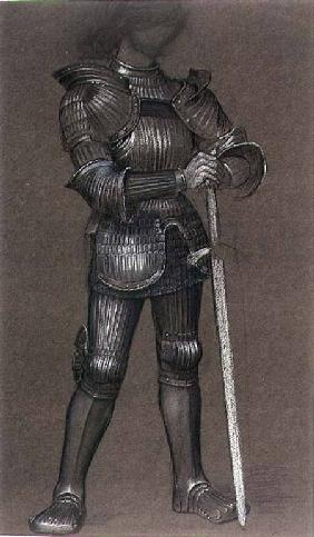 Study of Armour for 'Life and Thought Have Gone Away'