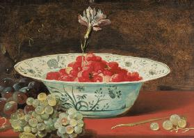 Still Life with a Bowl of Strawberries