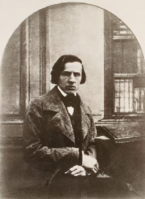 Frederic Chopin (1810-49) engraved from a daguerrotype
