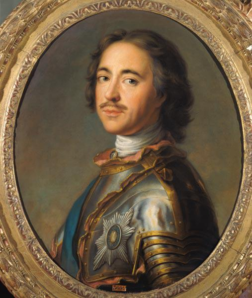 Portrait of Peter the Great (1672-1725)