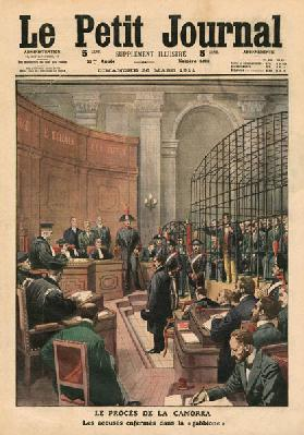 Trial of the Camorra, illustration from ''Le Petit Journal'', supplement illustre, 26th March 1911