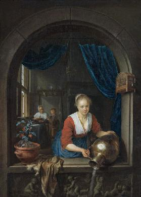 Maid at the window