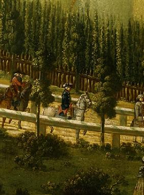 Frederick the Great on Horseback in the Maulbeerallee near Sanssouci