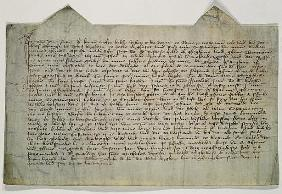 Last will and testament of the artist Master Bertram (c.1345-c.1415) 1390