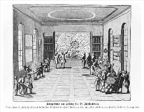 War school, illustration from ''Der vollkommene Deutsche soldat'' Hans Friedrich van Fleming, 1726,