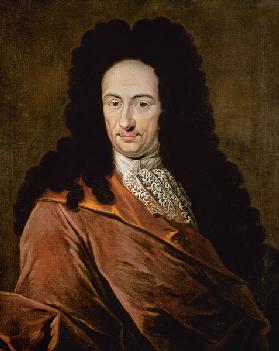 Portrait of Gottfried Wilhelm Leibniz (1646-1716)