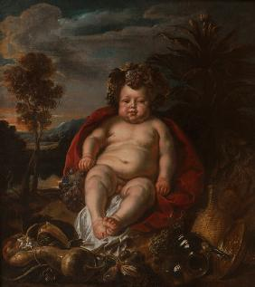 Bacchus as a child