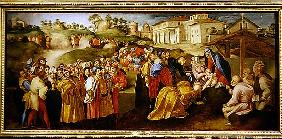 Adoration of the Magi, known as the ''Benintendi Epiphany''