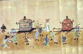 Part of the Sixth Korean Embassy to Japan at the time of Tokugawa Ietsuna's succession in 1651 possi