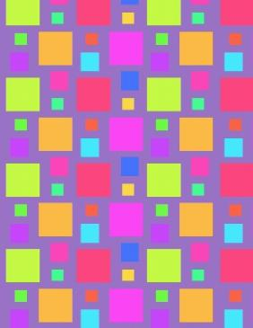 Multicoloured Squares