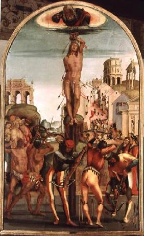 The Martyrdom of St. Sebastian