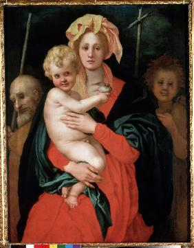 Madonna and Child with Saint Joseph and John the Baptist