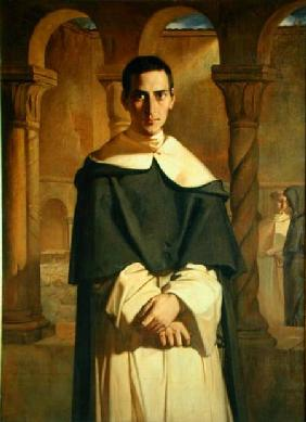 Portrait of Jean Baptiste Henri Lacordaire (1802-61), French prelate and theologian
