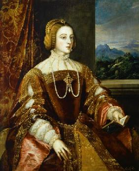 Portrait of the Empress Isabella of Portugal