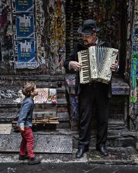 The Busker And The Boy