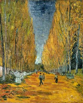 Les Alyscamps, Allee in Arles
